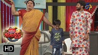 Hyper Aadi Raising Raju Performance | Jabardasth | 15th December 2016| ETV  Telugu