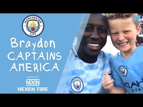 Braydon Captains America | Episode 6 - Braydon's rush to get the armband back to Vincent Kompany!