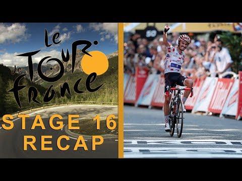 Tour de France 2018: Stage 16 Recap I NBC Sports