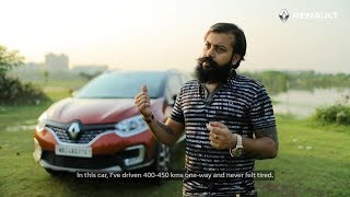 For The Love Of Driving | Renault CAPTUR Stories | Mr. Neil Biswas