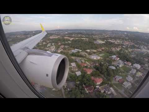 Royal Brunei A320neo - MIGHTY ENGINE silently gliding over BEAUTIFUL Brunei!!!  [AirClips]