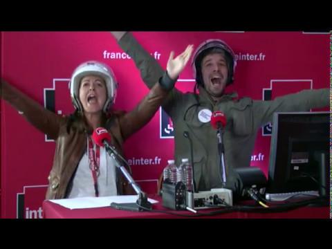Charline et Guillaume ont suivi la soirée... en scooter - Le billet de Charline