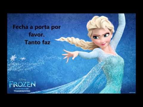 Já passou (Let it Go)   Frozen   Karaoke português PT