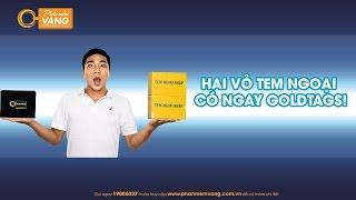 HAI VỎ TEM NGOẠI CÓ NGAY GOLDTAGS!