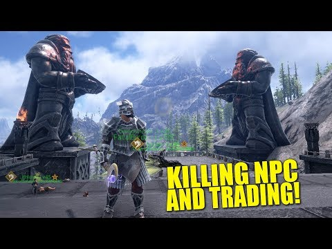 KILLING NPC'S FOR EPIC LOOT AND TRADING! (Official Pvp) - Dark and Light - Ep.16