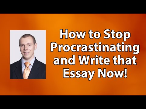cause and effect essay on procrastination A little helpful advice for getting over that procrastination bump and producing high how i learned to overcome procrastination (mostly college essay.