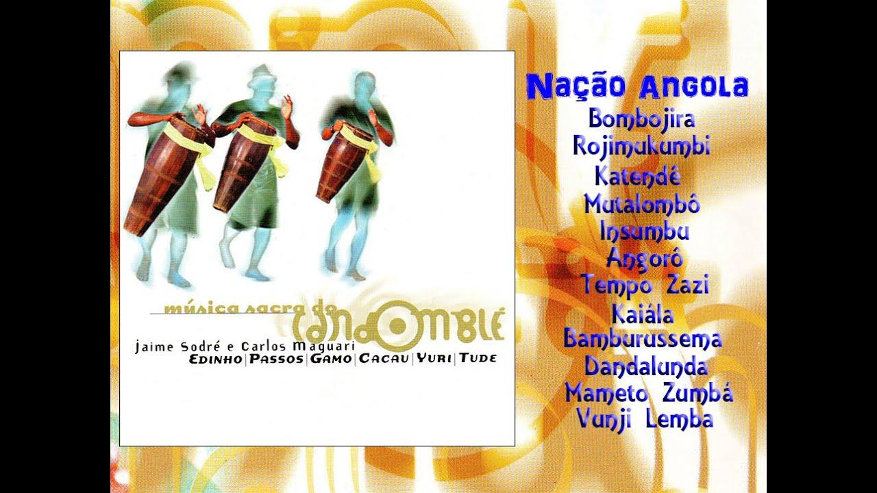 musica candomble angola