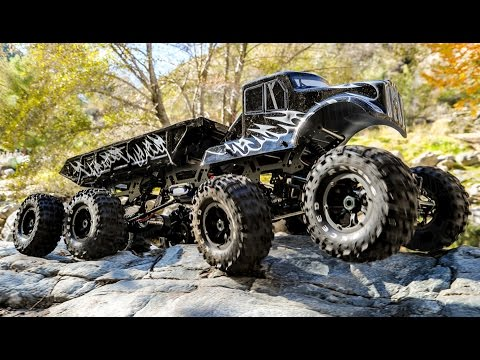 Exceed RC 8x8 MadTorque Monster Truck Crawler in Action 4K by NitroRCX