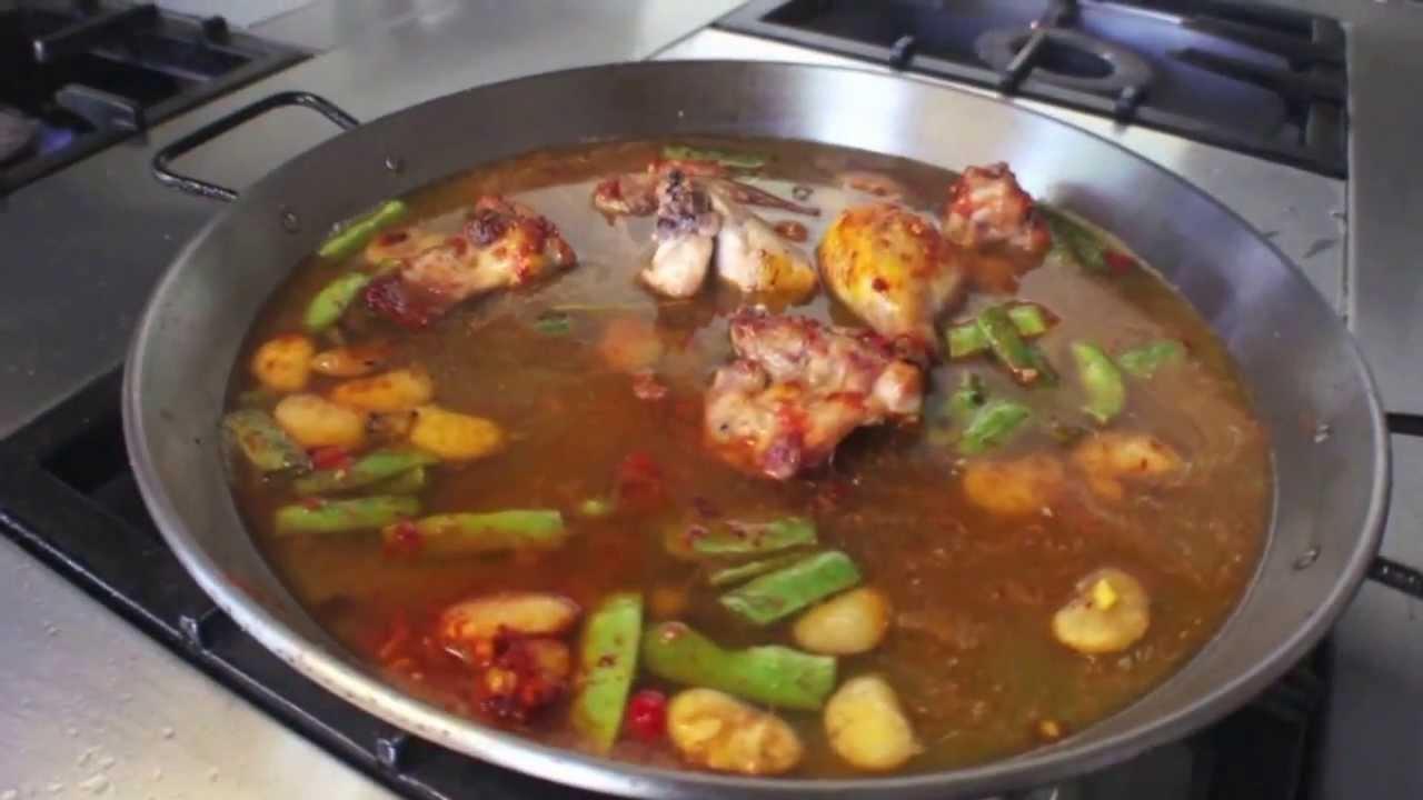C mo cocinar paella valenciana youtube - Como cocinar paella ...