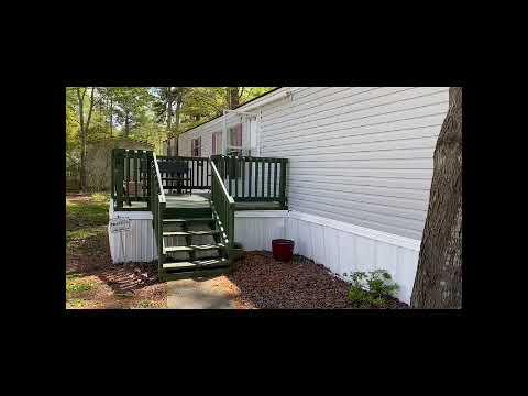 We Buy Houses Charleston - Walkthrough of a 3BD 2BA SWMH in Summerville