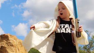 Father & Son REENACT STAR WARS!
