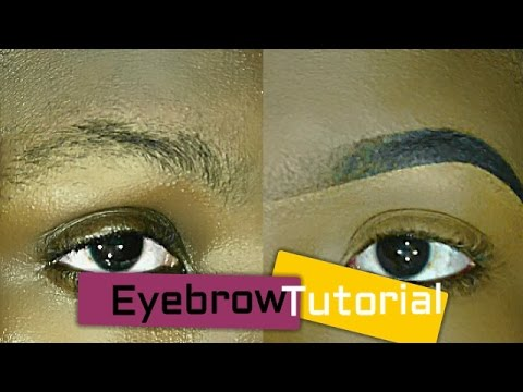 how to make perfect eyebrows using pencil