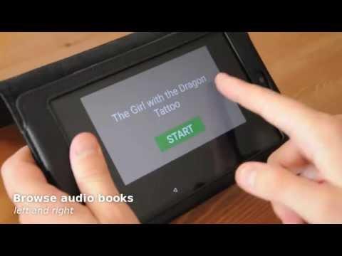 Audiobooks for seniors - Homer Player