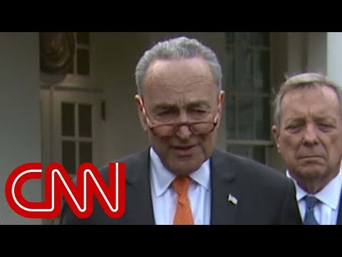 Schumer: Trump walked out of meeting after Pelosi said no to border wall