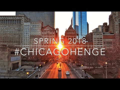 CHICAGOHENGE - First Day of Spring 2018