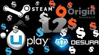 Раздача Steam игр №12 Покупка рандомных(случайных) ключей(Сегодня я вам рекомендую покупать у AMEDIA©! Ключ стоит 19.99 но за положительный отзыв вы получите еще 1 игру..., 2014-07-02T15:30:52.000Z)