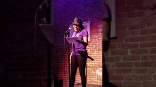 Jereni-Sol at the Nuyorican Poets Cafe: Move the crowd competition. Video 2