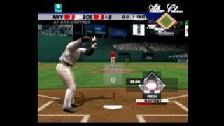 All Star Baseball 2005 Red Sox vs Yankees Part 2