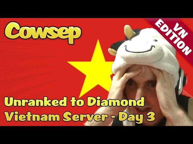 Cowsep on Vietnam Day 3 - Pentakill thứ 2 và tiếp tục là nhạc Sơn Tùng =))