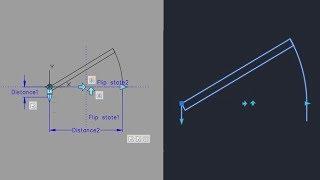 Making a Door Dynamic Block in AutoCAD