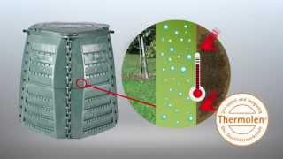 Vorteile und Aufbau des Thermo-Star Komposters