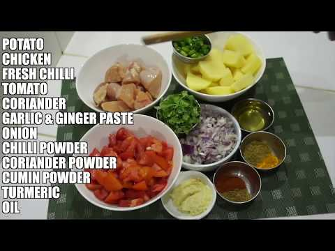 ⏰ How To Make Chicken Potato Curry - Super Easy Chicken Curry - Indian Chicken Curry