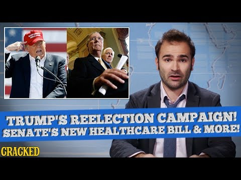 President Trump Kicks Off Reelection Campaign, Senate Kicks Off Millions From Healthcare - SOME NEWS