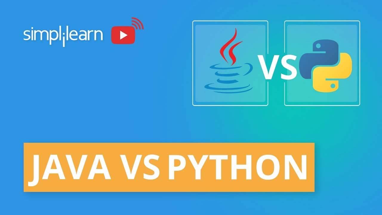 Java vs Python: Which Is Better? | Difference Between Java And Python