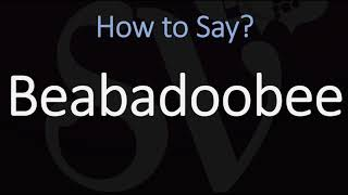 How to Pronounce Beabadoobee? (CORRECTLY)