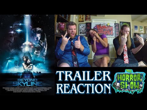 """Beyond Skyline"" 2017 Horror Movie Sequel Trailer Reaction - The Horror Show"
