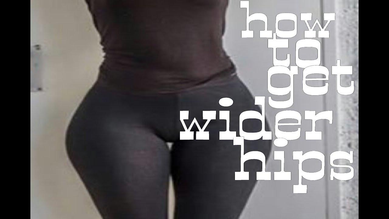hips spread wide Big