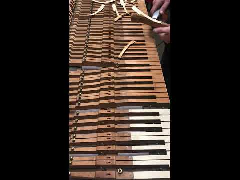 Remove Piano Keys easy in 10 minutes