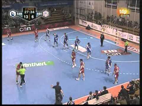 Portland San Antonio - Ademar de Leon - Liga Asobal 08-09