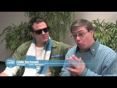 Johnny Knoxville, Eddie Barbanell and the R-word - YouTube