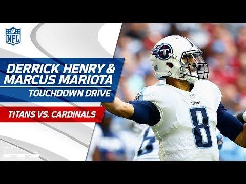 Marcus Mariota & Derrick Henry Carry Tennessee on  Big TD Drive! | Titans vs. Cardinals | NFL Wk 14