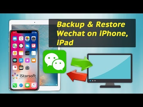 How to backup wechat chat history from iphone to pc