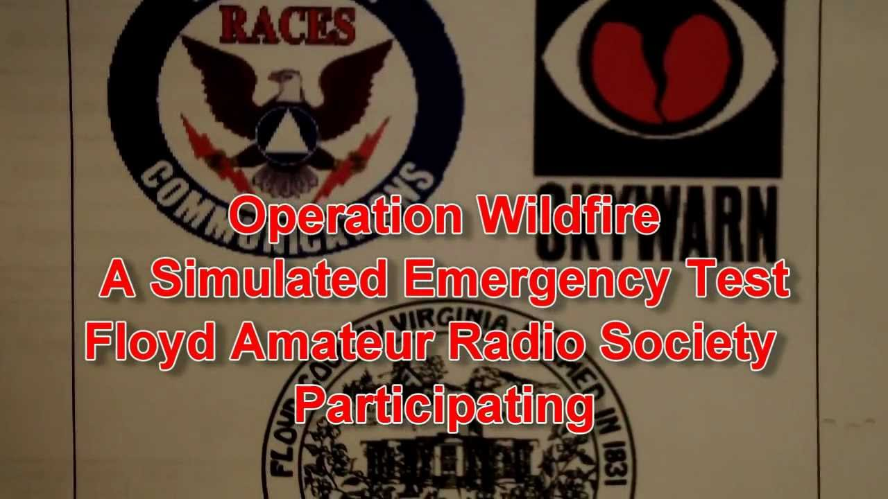 SET Simulated Emergency Test Amateur radio KK4WW