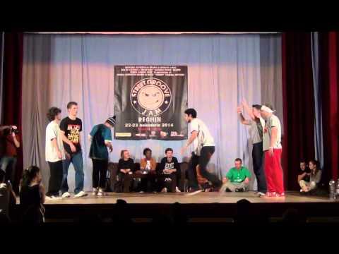 Street Groove Jam | 3 vs. 3 | SEMI FINAL | Revolution Madness vs. Halifix
