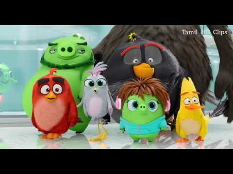 The Angry Birds 2 HD Movie Scene In Tamil