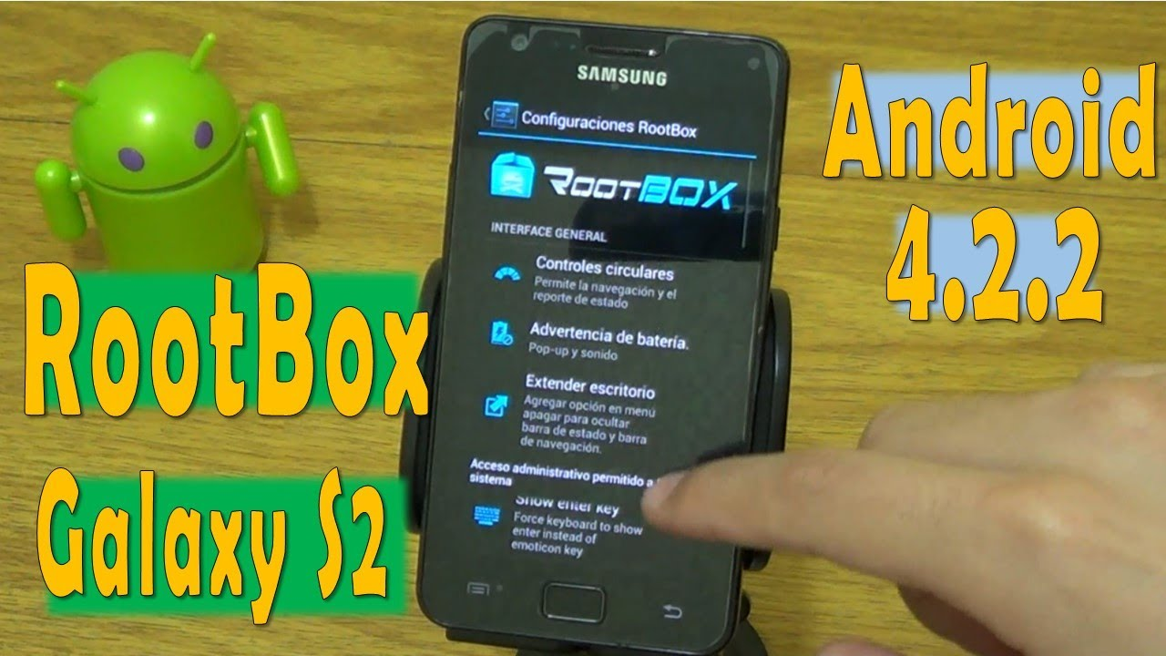 root application for android 4.2.2