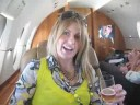 FLYING ON A PRIVATE JET!!!