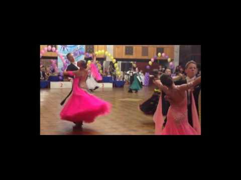 Турнир Большая Волга 2016, видео-фрагмент соревнования, бальные танцы Ульяновск