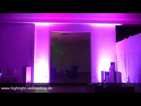 monza led rgb farbverlauf 3 in 1 led dmx eventbeleuchtung. Black Bedroom Furniture Sets. Home Design Ideas