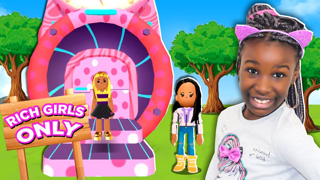 Roblox/girls only XD - YouTube