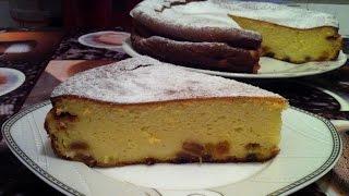 Очень Нежная Творожная Запеканка/Pie With Cottage Cheese/Простой Пошаговый Рецепт Запеканки