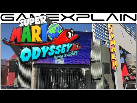 Tour of the Super Mario Odyssey Universal CityWalk Demo Event in Los Angeles (Pics & Video)