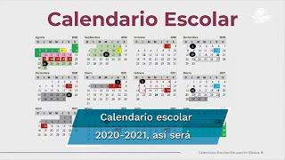 El titular de la SEP, Esteban Moctezuma, presentó el calendario escolar para el ciclo 2020-2021. Detalló que las inscripciones en educación básica se llevarán a cabo del 16 al 21 de agosto