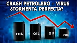 Tormenta perfecta: Crash petrolero + v1rus, 4 claves para invertir en crisis
