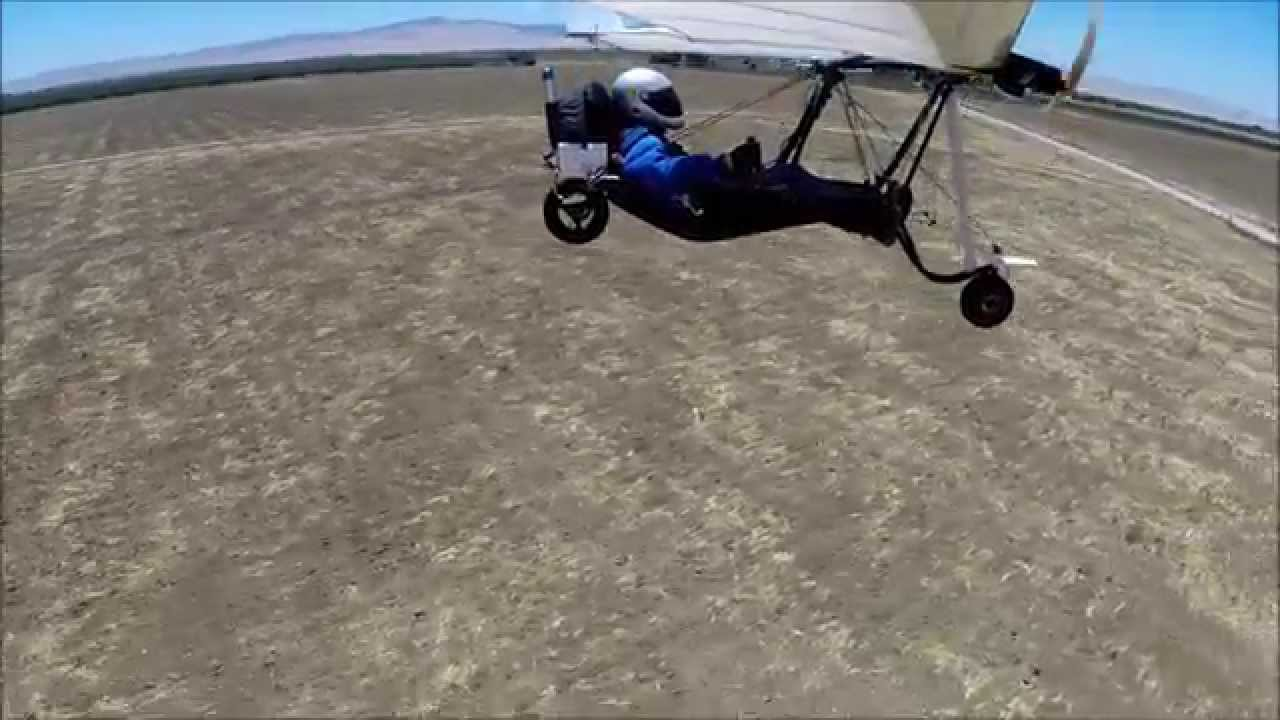 Electric Powered Millennium Hang Glider Youtube