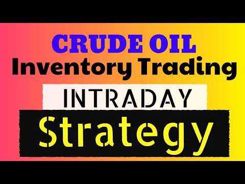 100% profitable crude oil inventory day intraday strategy | crude oil inventory trading strategy |